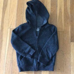 Boys zipper hoodie